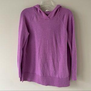 Loft lounge pullover hoodie